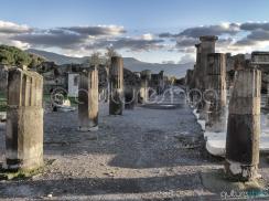 Roman Pillars Pompeii