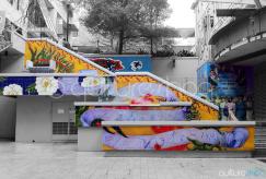 Stairway Mural Auckland
